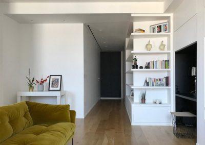 Officine Architetti Napoli Bonito House_corridoio ingresso