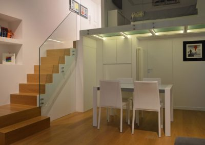 Officine Architetti Napoli Doc House_scala soppalco