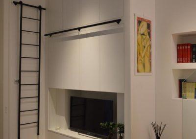Officine Architetti Napoli Doc House_mobile armadio tv