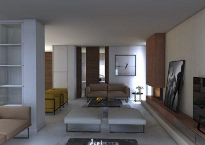 Officine Architetti Napoli_Victoria House_sala tv