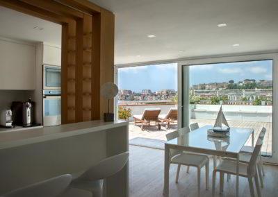 Officine Architetti Napoli_Violetta House_vista terrazzo