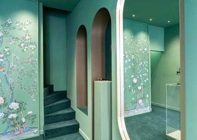 Officine Architetti_Particolare specchio in ottone