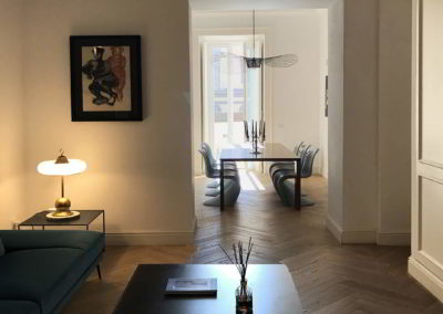 Officine Architetti_Salotto e sala pranzo