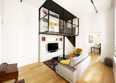 Officine Architetti Napoli_casa Pitloo - salone