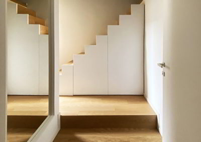 Officine Architetti Napoli_casa Pitloo - mobile scala