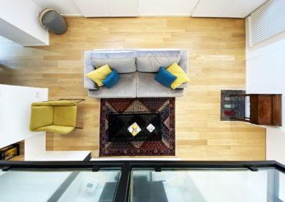 Officine Architetti Napoli_casa Pitloo - vista salone