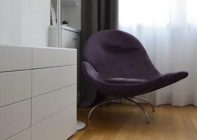 camera da letto-poltrona